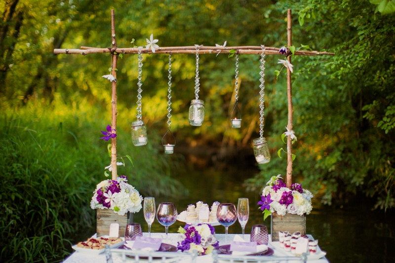 IMG 1456 Purple And White Romantic Rustic Wedding Inspiration 004 Decorating